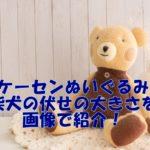 【ケーセン柴犬】購入レポ!伏せポーズの大きさ&サイズ感口コミ!極上の手触りに癒される