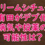 【くりぃむ有田哲平デブ化】ひげ顔はむくみ隠し?病気の可能性は?