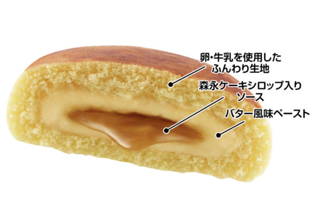 2020年9月25日リニューアル発売の『ホットケーキまん』画像2