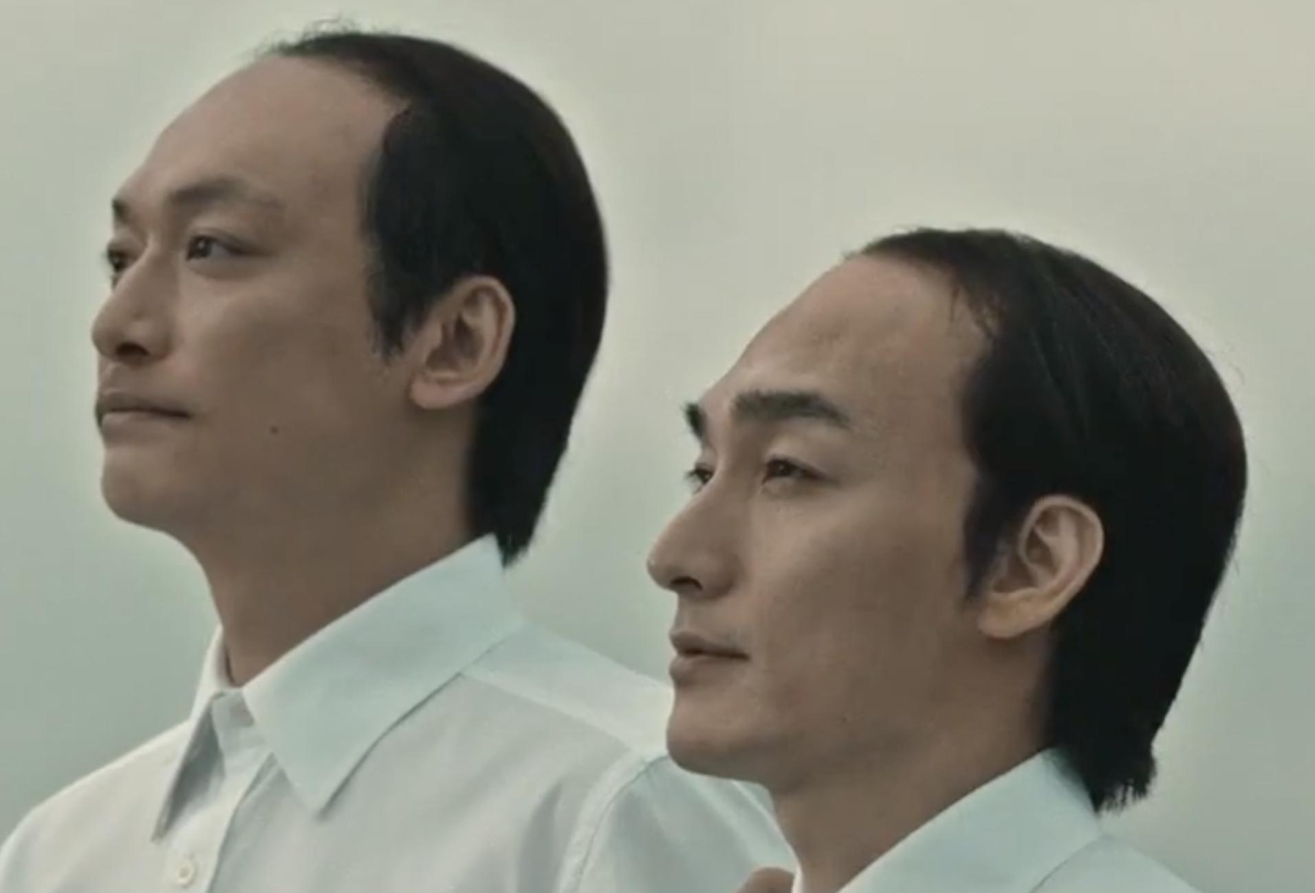 スカルプDの2020年10月最新CMでオールバック姿のミノキ兄弟の画像