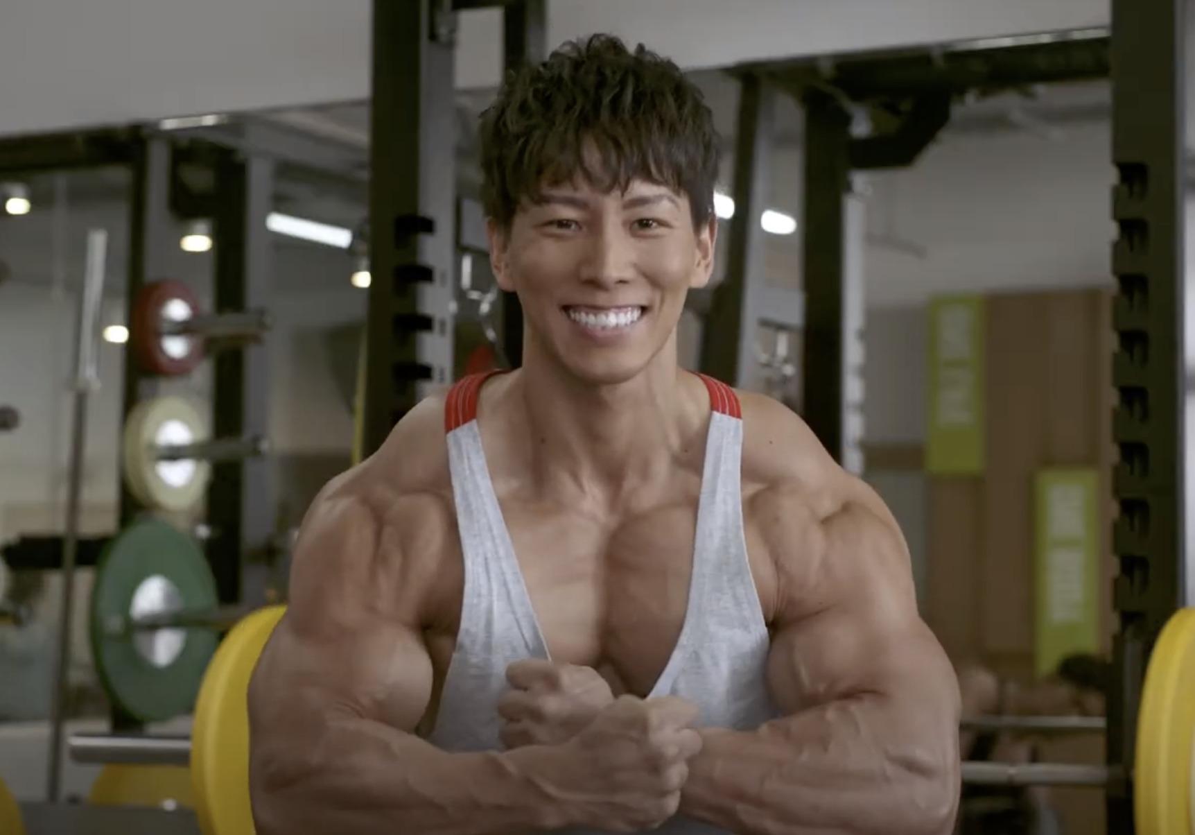 横川尚隆の筋肉のすごい画像1