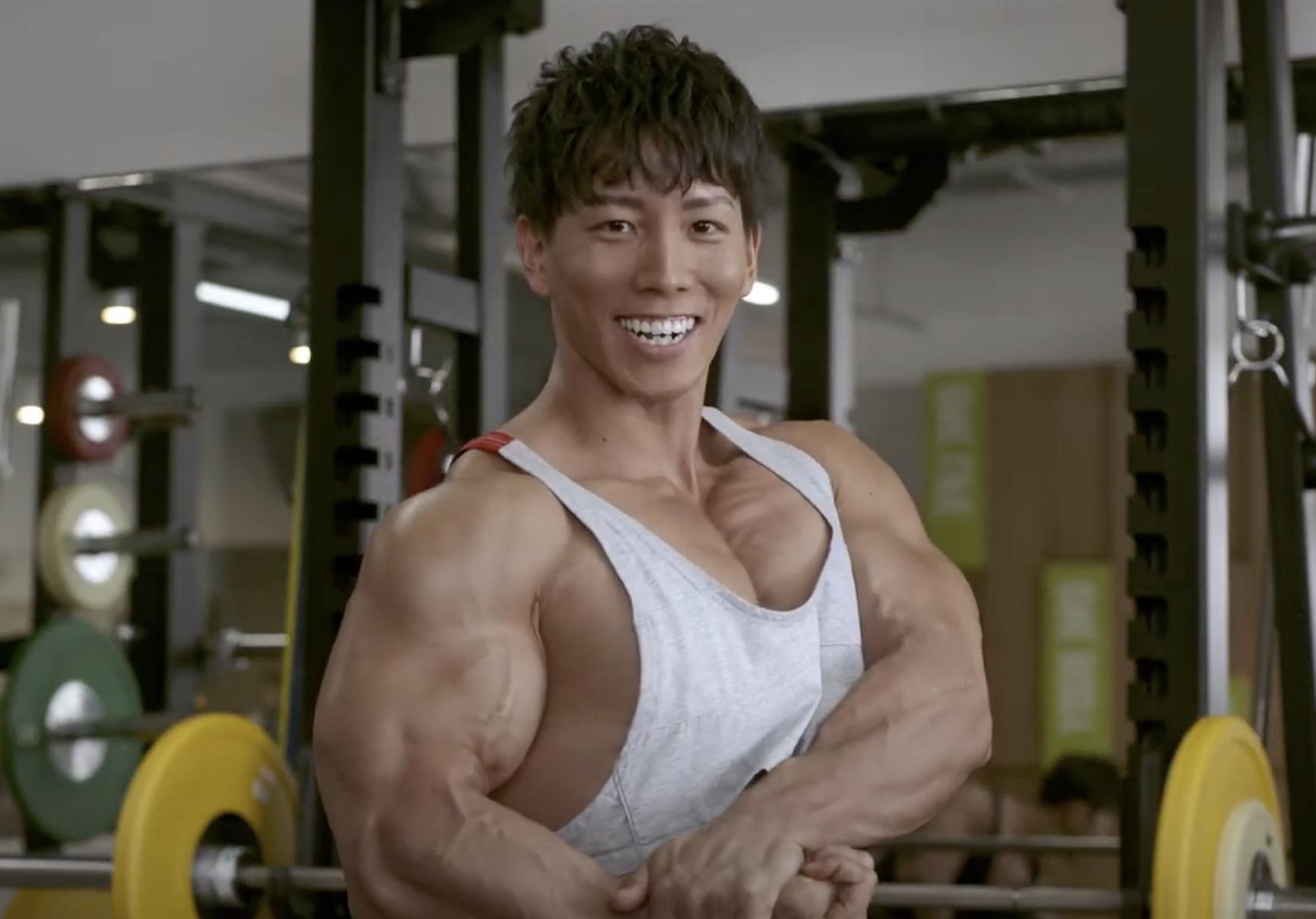 横川尚隆の筋肉のすごい画像2